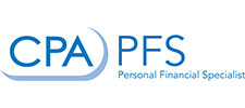 American Institute of CPAs Personal Financial Specialist Designation Logo
