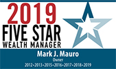 Five Star Professional Wealth Manager Award